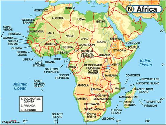 obryadii00: map of cameroon africa